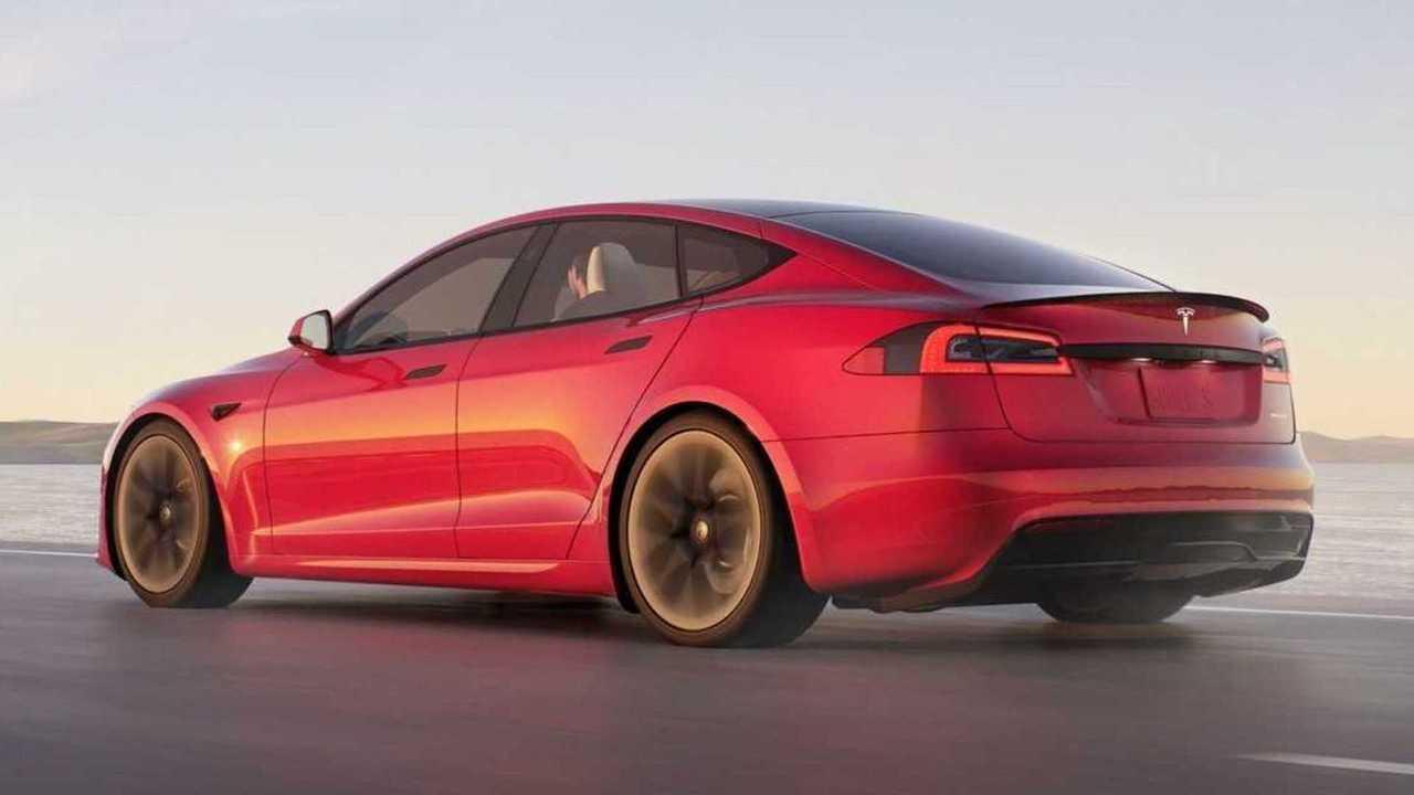 2021 Tesla Model S refresh