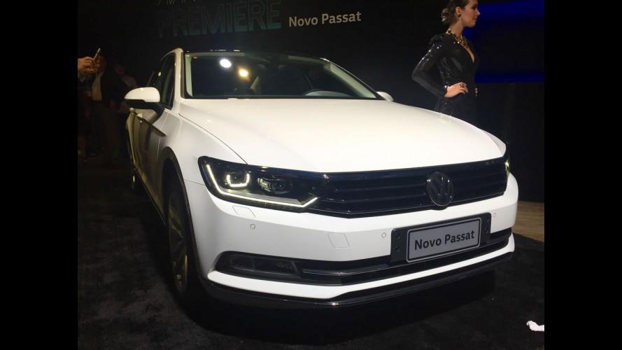 Novo VW Passat terá preços a partir de R$ 144.500 no Brasil