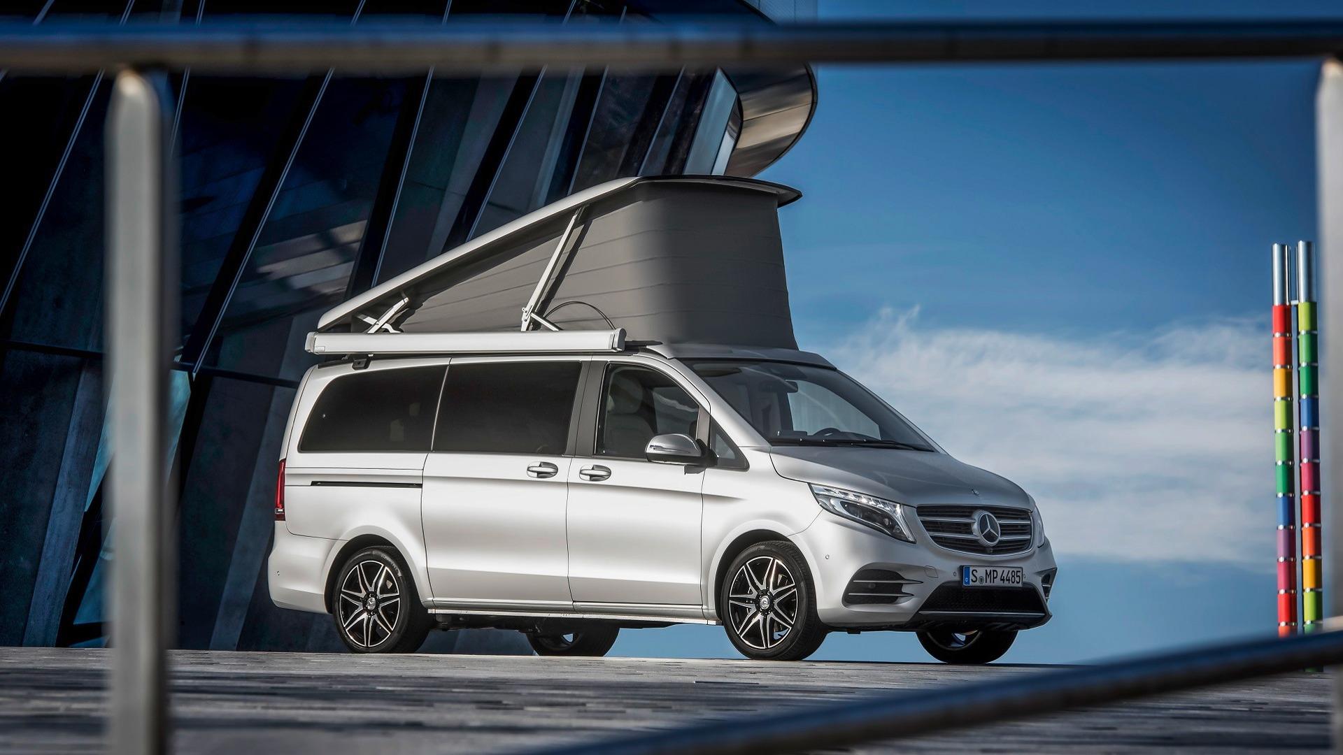 Mercedes Marco Polo >> Posh Mercedes Marco Polo Camper Has Yacht Wood Floors