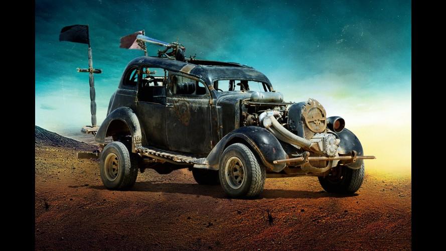 """Veja a galeria de fotos com os carros do novo filme """"Mad Max: Fury Road"""""""