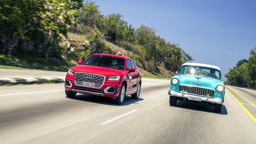 Con Audi Q2 sulle strade di Cuba [VIDEO]