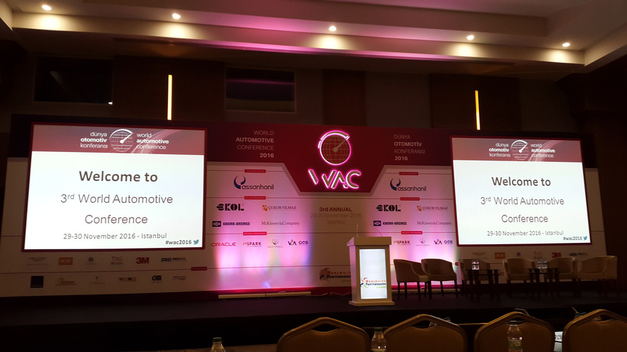 Dünya Otomotiv Konferansı 2016 - Bölüm 1