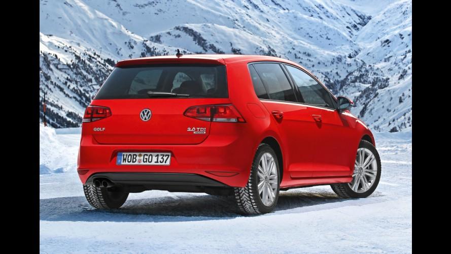 VW Golf deve ganhar tração integral para atrair clientes da Subaru