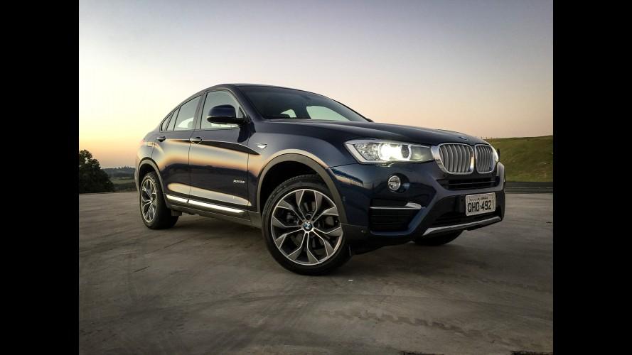 Recall: BMW convoca 5.159 unidades de X3 e X4 para reparar falha no Isofix