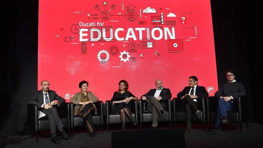 Ducati for Education: a Borgo Panigale si parla di formazione e progetti per i giovani