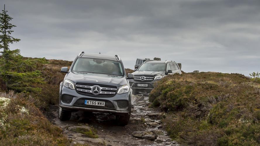 Mercedes - Une virée de 100 kilomètres sans rouler sur le bitume