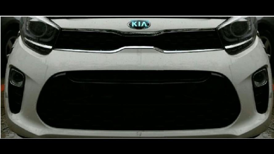 Flagra: Nova geração do Kia Picanto aparece pela primeira vez