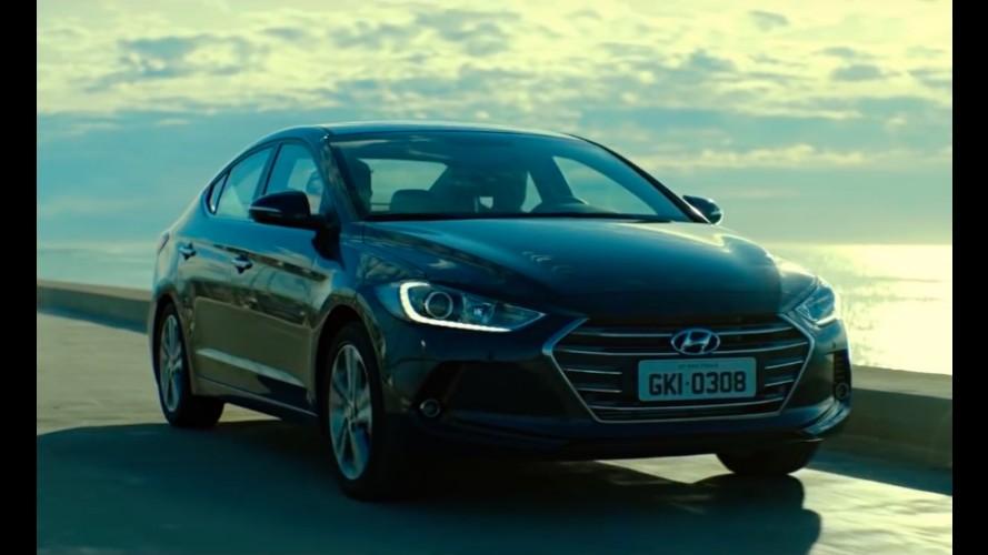 Lançamento breve: Novo Hyundai Elantra 2017 já aparece em comercial no Brasil