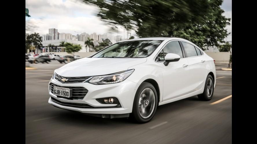 Novo Cruze tem primeiro reajuste de preços e versão LTZ vai a R$ 109.790