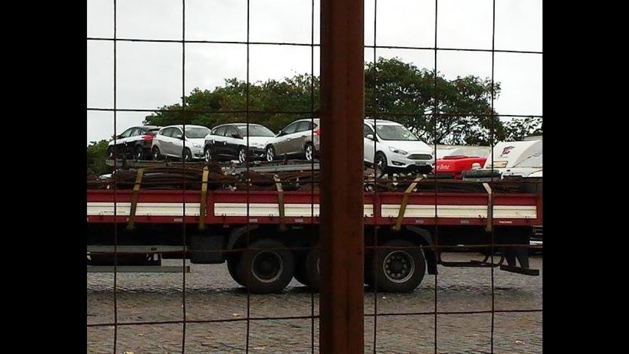 Flagra: novo Focus está chegando às lojas brasileiras