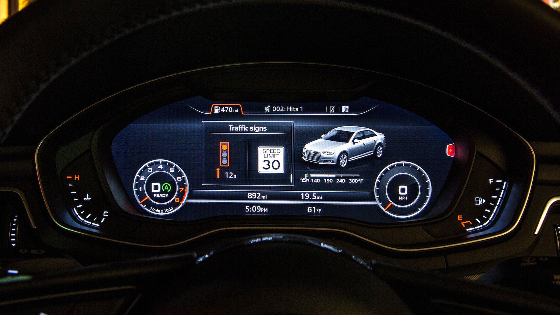 Audi traffic light