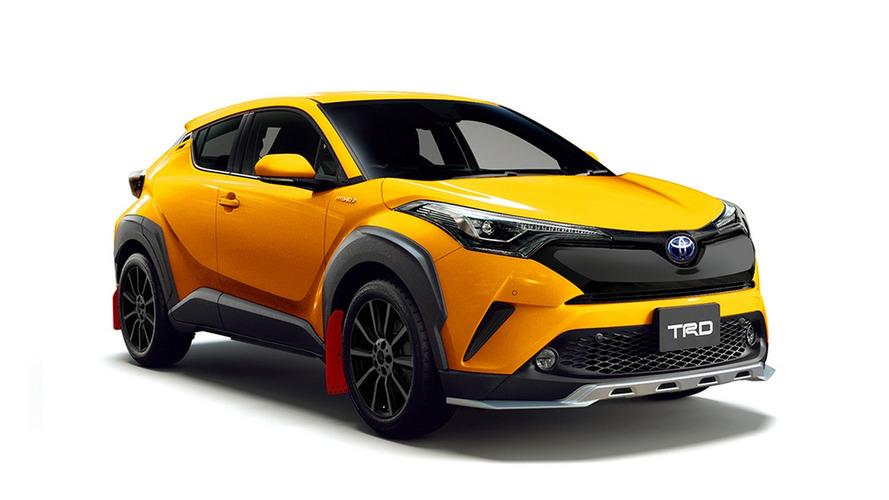 """Toyota C-HR ganha """"chamativos"""" kits esportivos TRD e Modellista"""