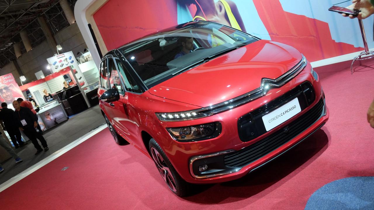 Salão do Automóvel: Entre conceitos, Citroën lança C4 Picasso reestilizado