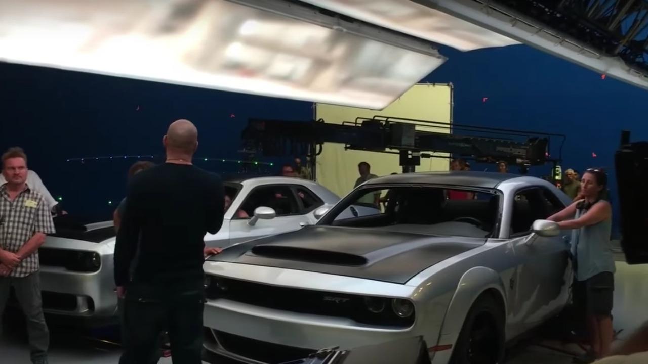 Dodge Challenger SRT Demon Vin Diesel