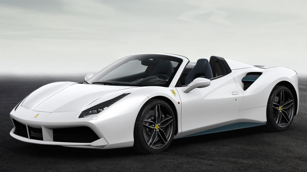 Ferrari 70th Anniversary Livery Number #16