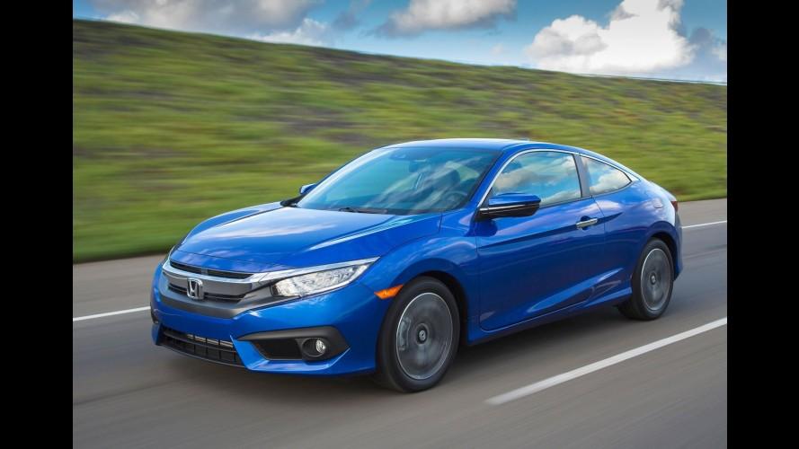 Novo Civic 2016 com motor 2.0 tem recall por ausência ou defeito nos anéis