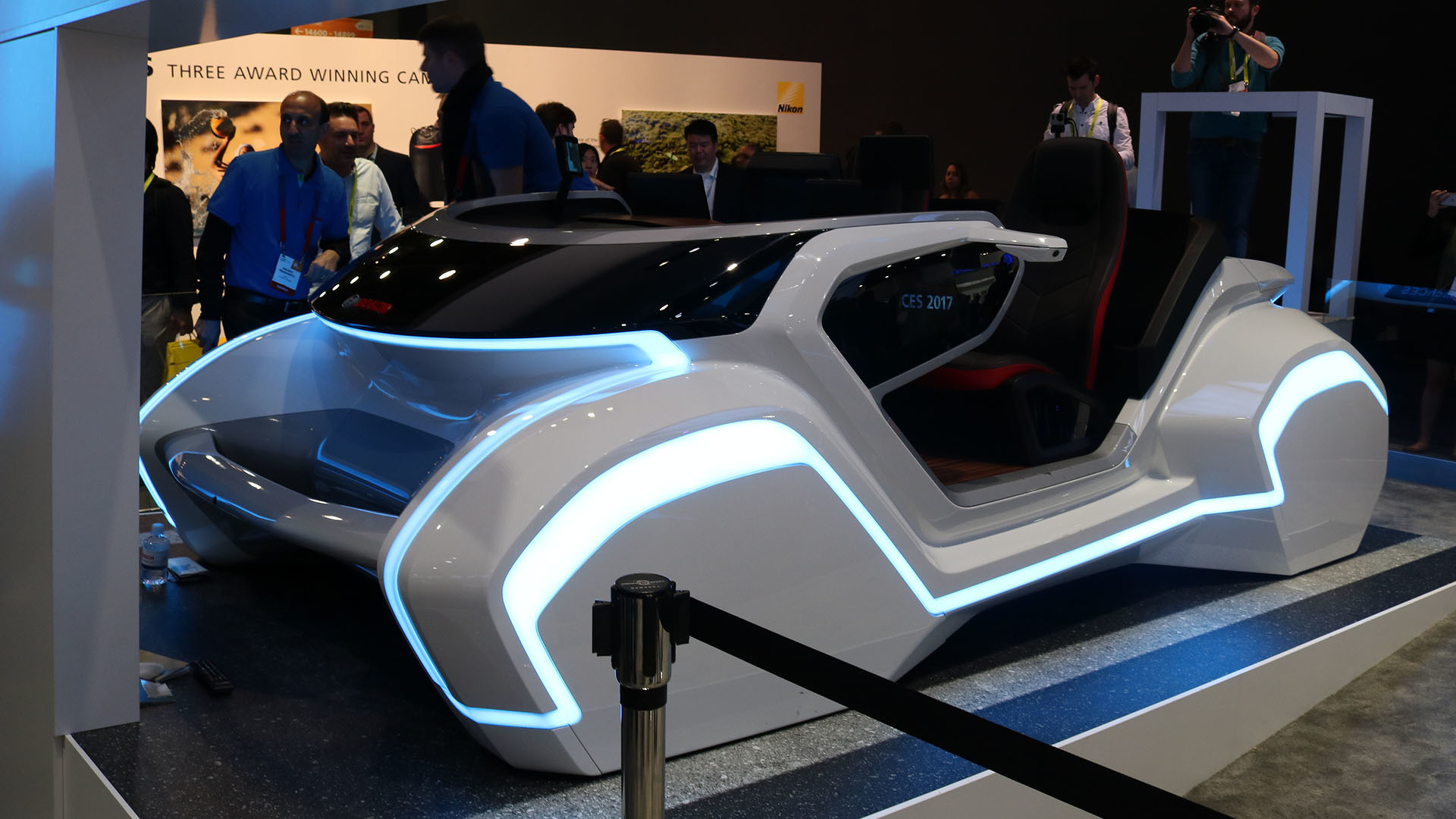 Admirable Boschs Ces Auto Interior Of The Future Is An Assistant On Interior Design Ideas Tzicisoteloinfo
