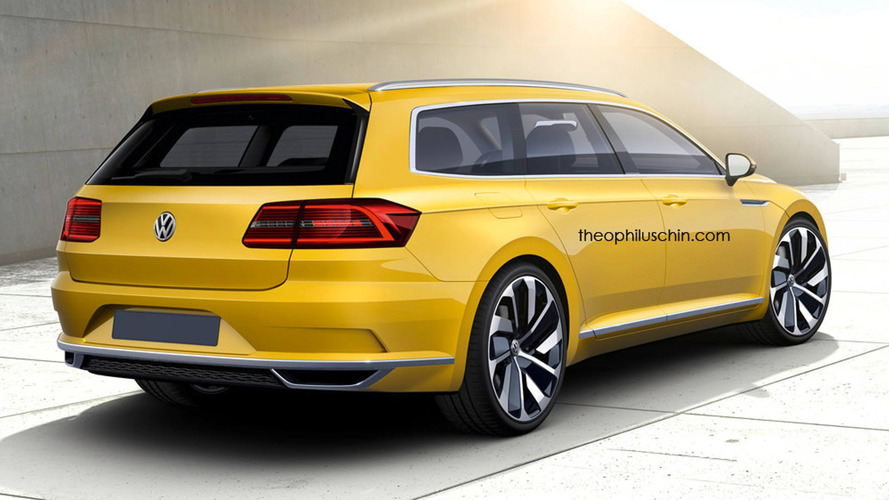 VW Arteon Shooting Brake - Ela seria assim, segundo Theophilus Chin