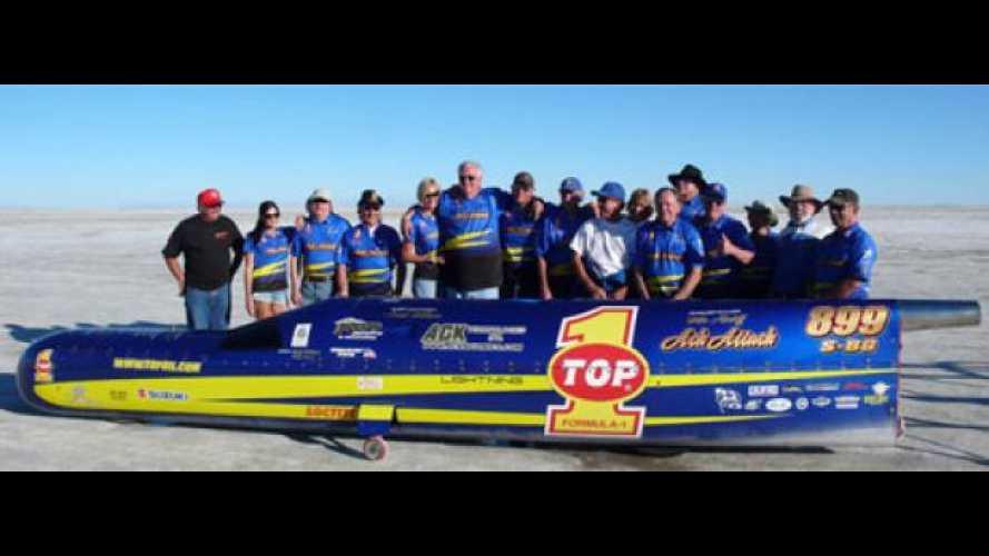 Nuovo record del mondo di velocità a Bonneville