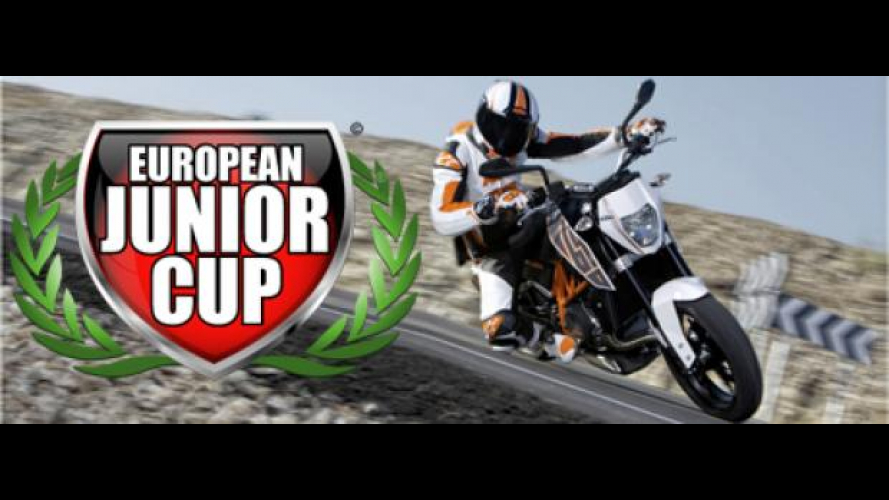 KTM: la European Junior Cup con la Duke 690