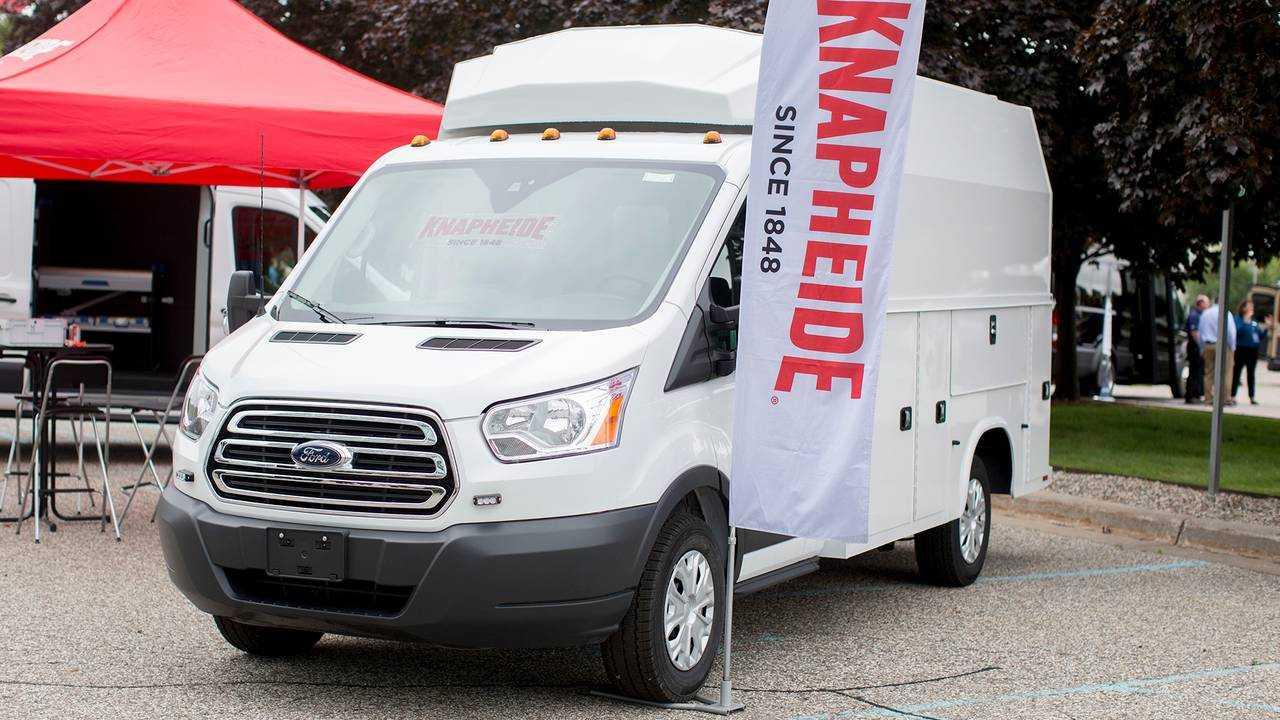 Knapheide Manufacturing Company Work Van with Exterior Storage