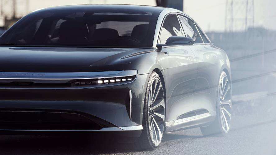 Svelati tutti i dati della Lucid Air: sulla strip batte anche la Veyron