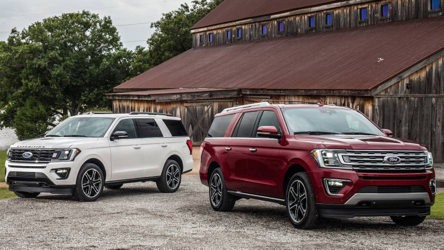 Ford Touts New Special-Edition Explorer, Expedition SUVs In Texas