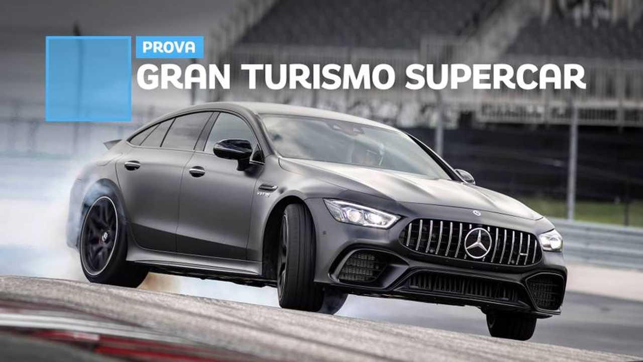 Mercedes-AMG GT Coupé4, la prova