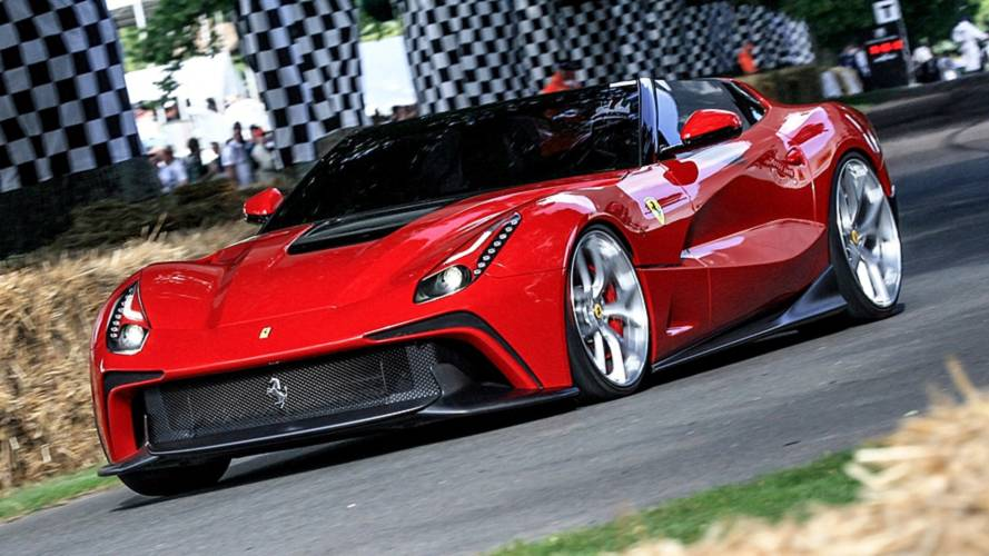 Das sind alle Ferrari Special Projects!