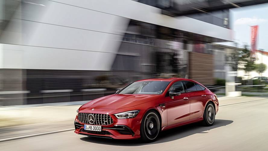 2019 Mercedes-AMG GT 43 Four-Door Coupe