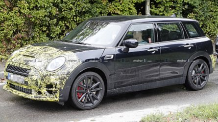 Mini Clubman JCW Spied Showing Off Its Sporty Upgrades
