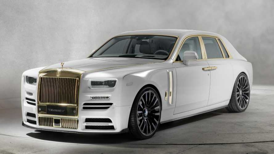 Rolls-Royce Phantom par Mansory - M'as-tu vue ?
