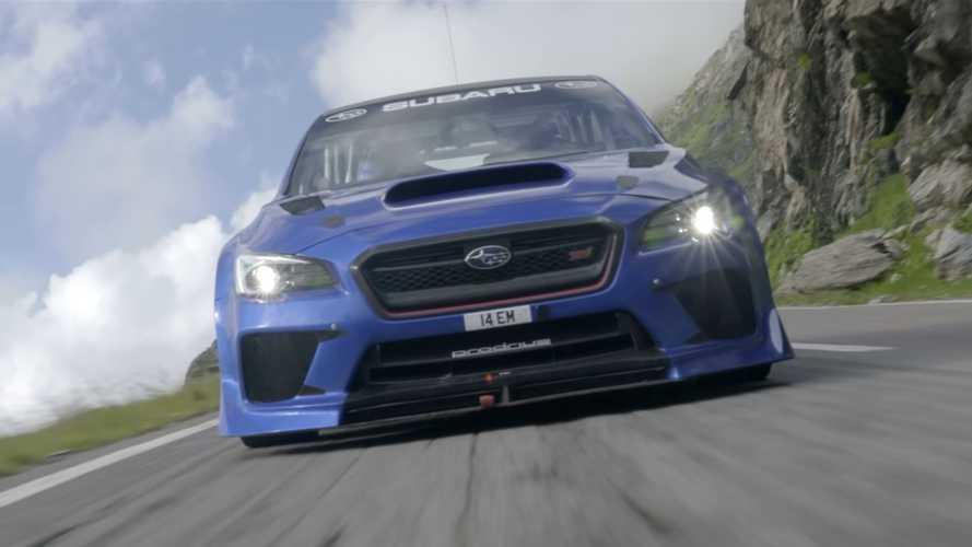 Lenyűgöző, ám veszélyes helyszínen döntött rekordot a Subaru WRX STI Type RA