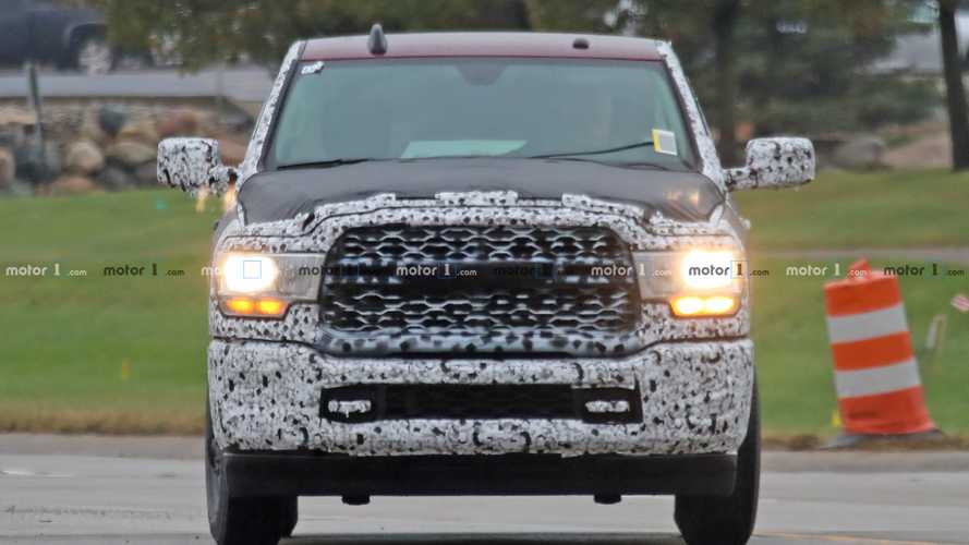 2020 Ram HD Tradesman Spy Photos
