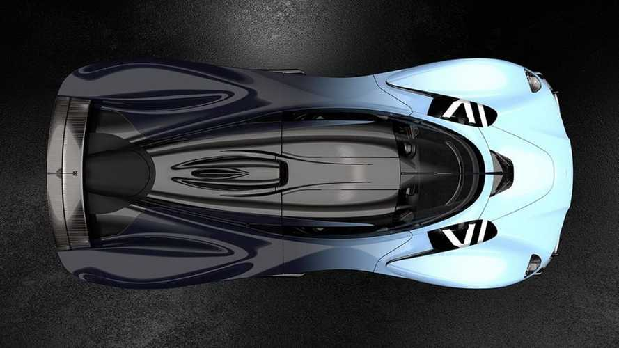 Aston Martin Valkyrie new images