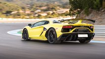 Lamborghini Aventador SVJ test drive all'Estoril