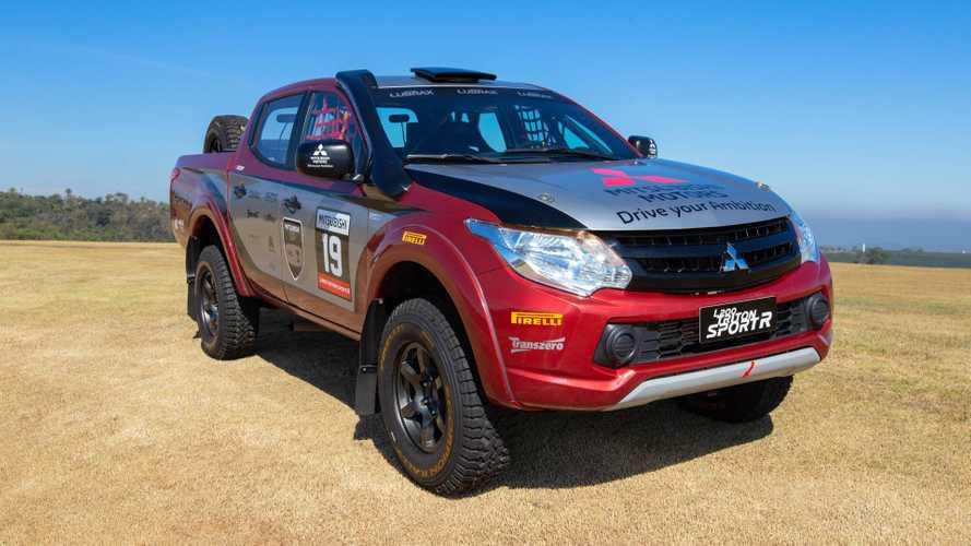 Mitsubishi L200 Triton ganha versão Sport R para competição