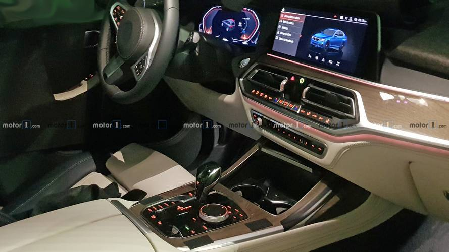 Take a sneak peek inside the 2019 BMW X7