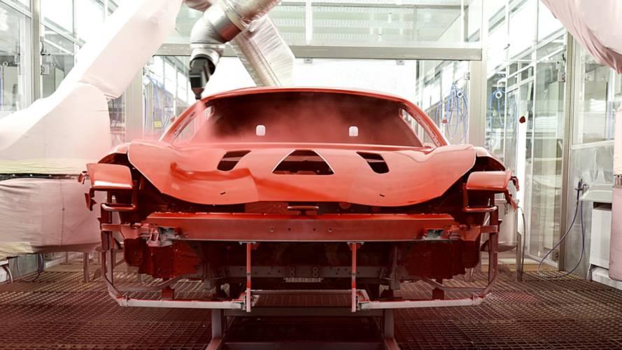 Ferrari présente un nouveau système de peinture