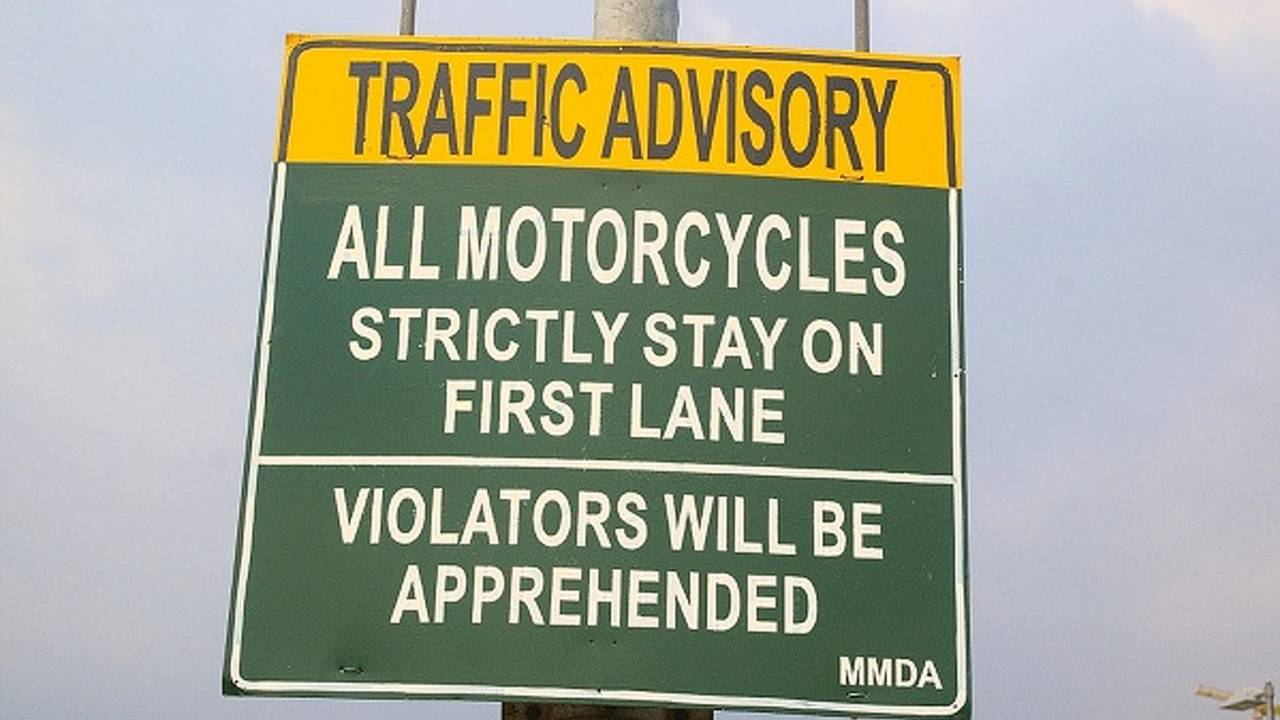 Are motorcycle lanes the new HOV lanes?