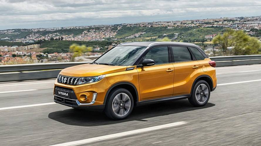 Suzuki Vitara Gets A Nose Job, New Engines for 2019