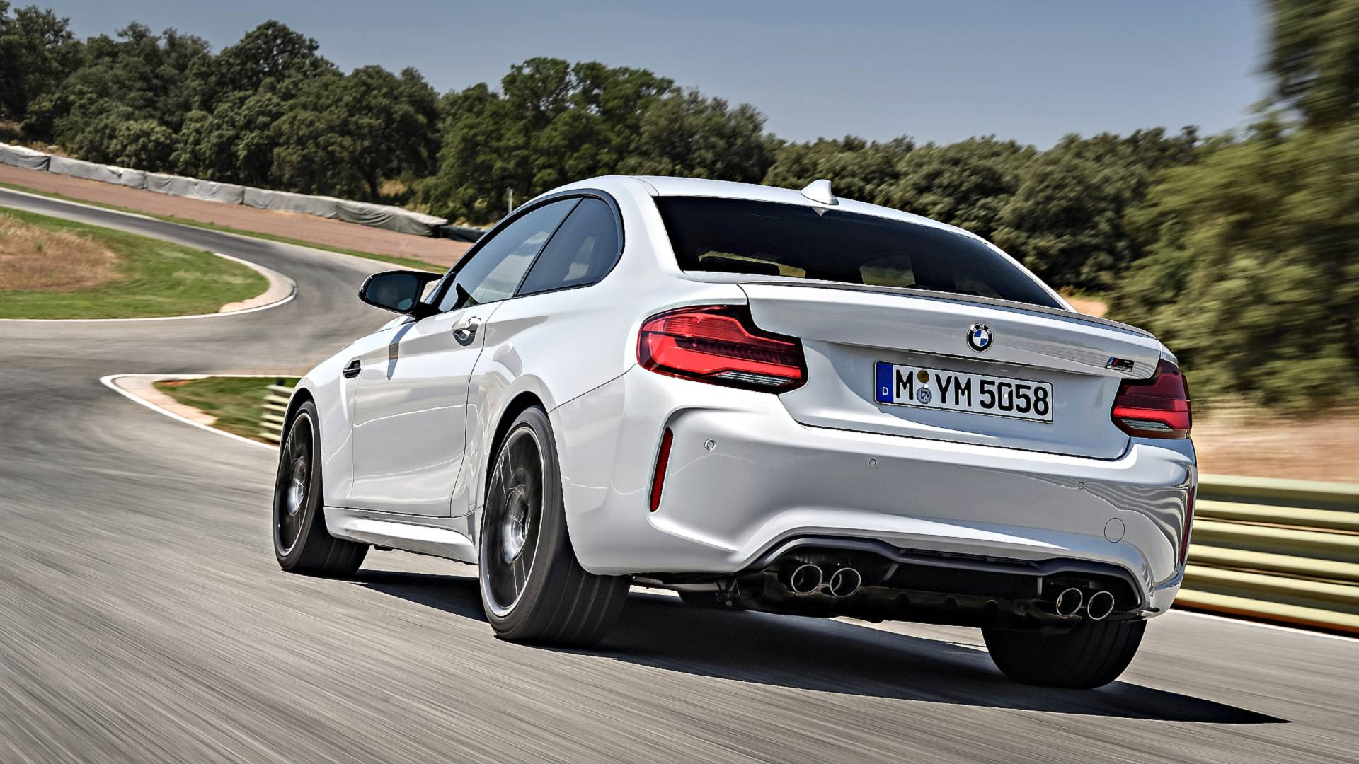 2019 Bmw M2 First Drive When The Tail Wags The Dog