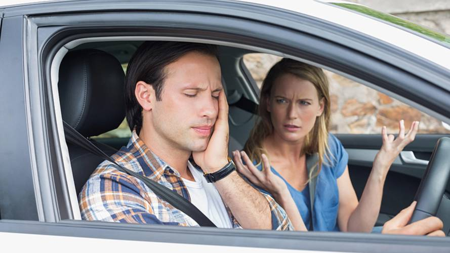 One in Three Brits Admits To In-Car Arguments