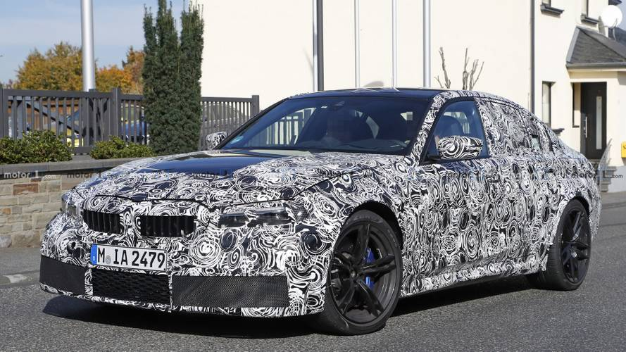 Next BMW M3 allegedly available with rear- and all-wheel drive