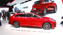 Kia Proceed at the Paris Motor Show