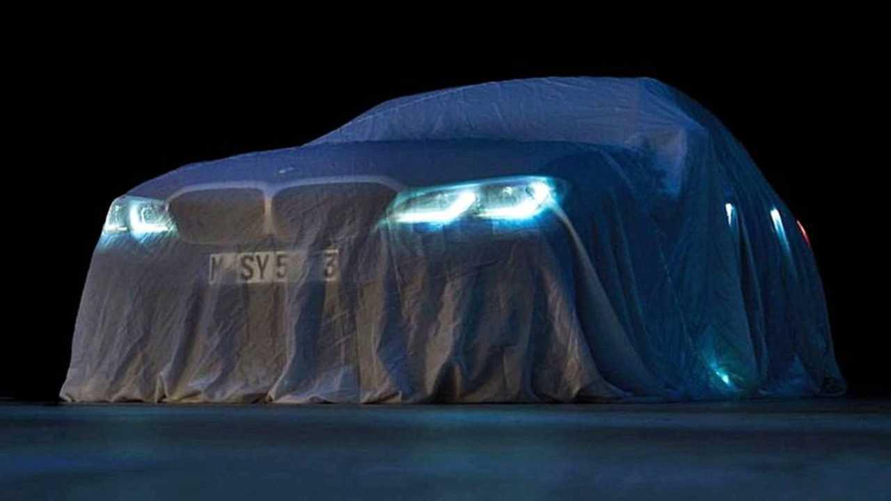 BMW 3er 2019 Teaser