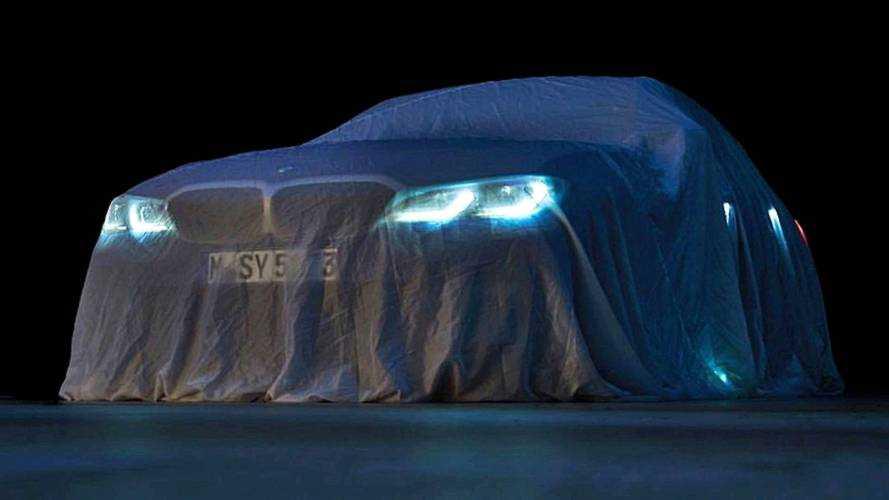 BMW 3er 2019 Update: Offizieller Teaser zeigt wohl M340i