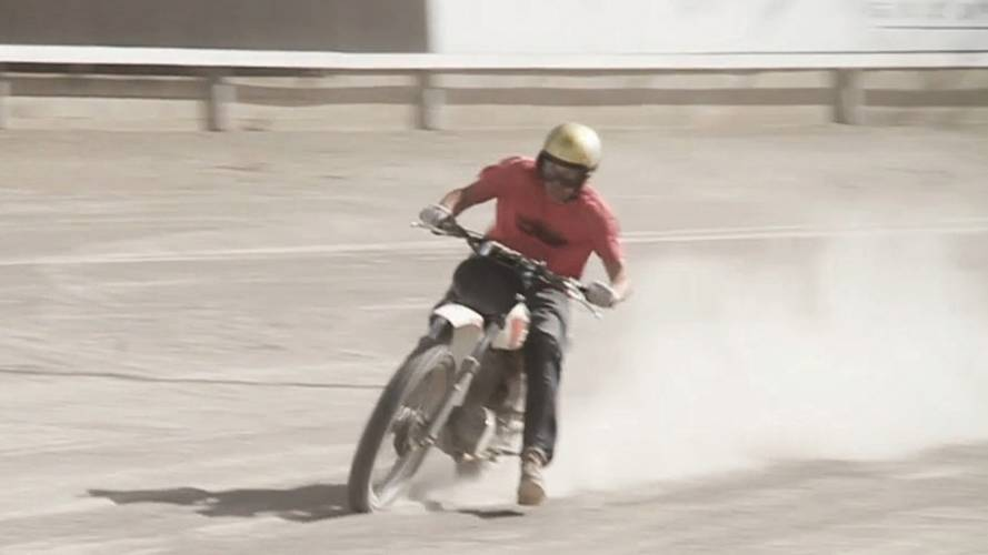 Video: riding sideways with Deus