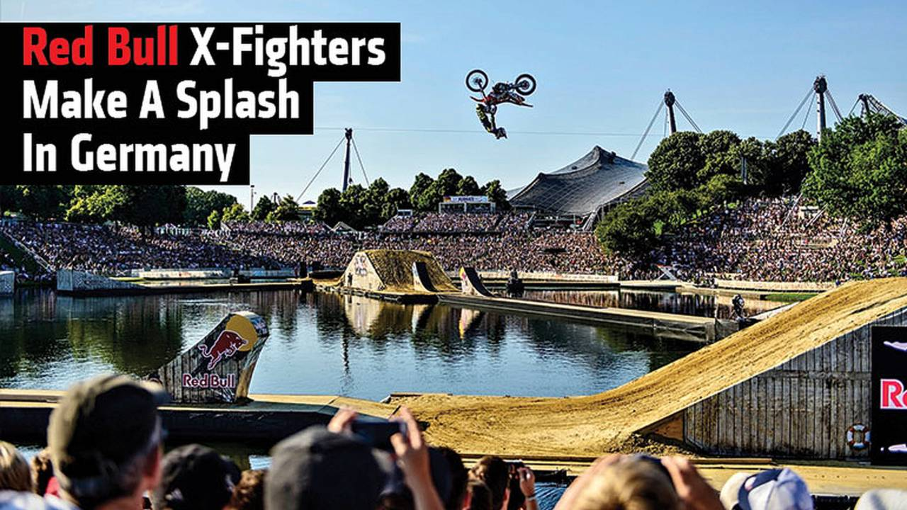 Red Bull X-Fighters Make A Splash In Germany