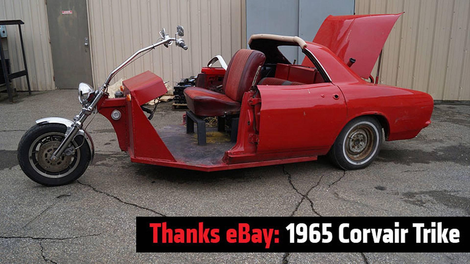 Thanks Ebay 1965 Corvair Trike